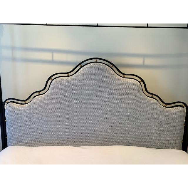 Celery Kemble Bed by Henredon For Sale - Image 11 of 13