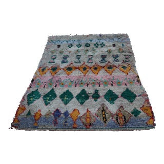 Moroccan Rug - 6′ × 8′2″ For Sale