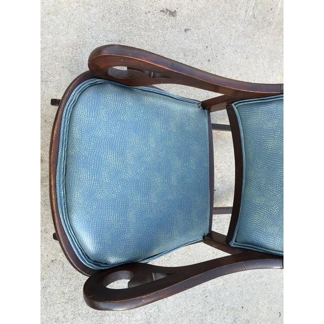 Mid 20th Century Classic Rocker Chair For Sale - Image 4 of 13