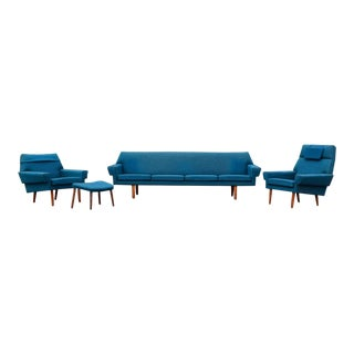 Spectacular G Thams Danish Living Room Set For Sale