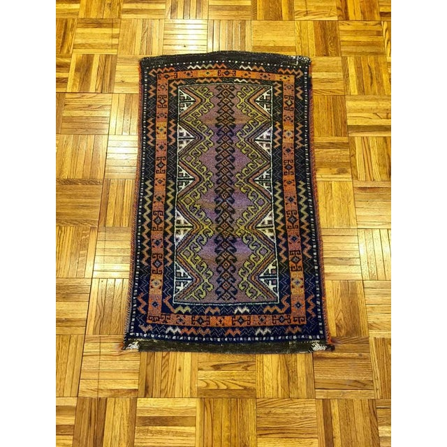Semi Antique Turkish Anatolian Rug - 1′10″ × 3′4″ - Image 2 of 6