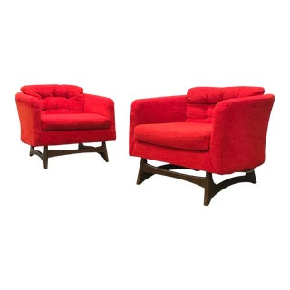 Adrian Pearsall Style Mid Century Modern Lounge Chairs - A Pair For Sale