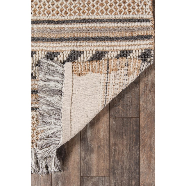 Esme Charcoal Hand Woven Area Rug 2' X 3' For Sale In Atlanta - Image 6 of 8
