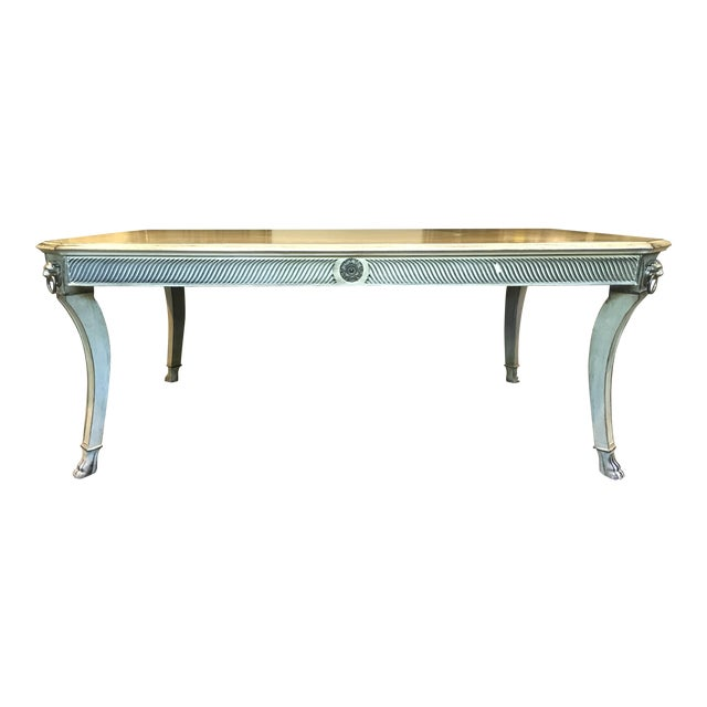 John Widdicomb Regency Coffee Table For Sale