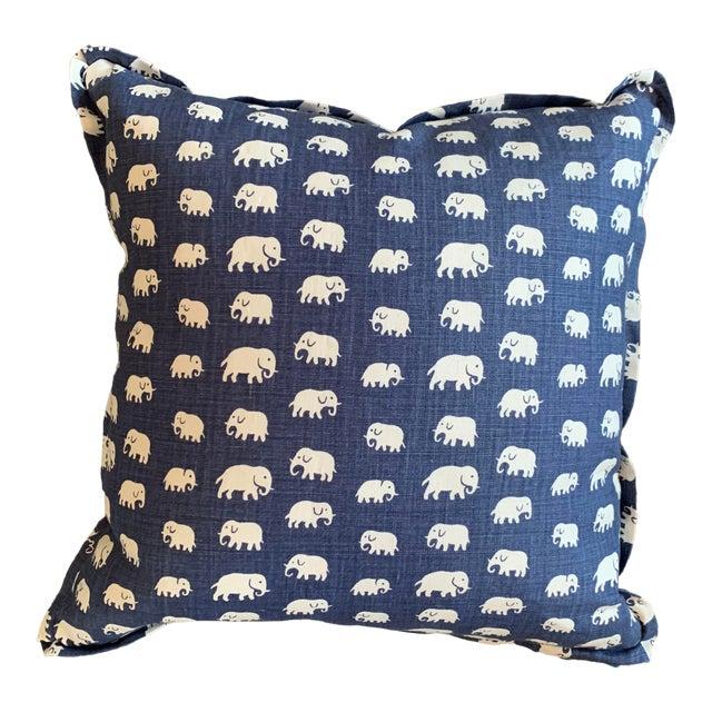 Josef Frank Linen Pillow For Sale