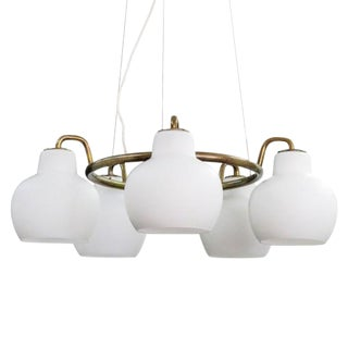 Vilhelm Lauritzen Christiansborg, B&g Ring Chandelier For Sale