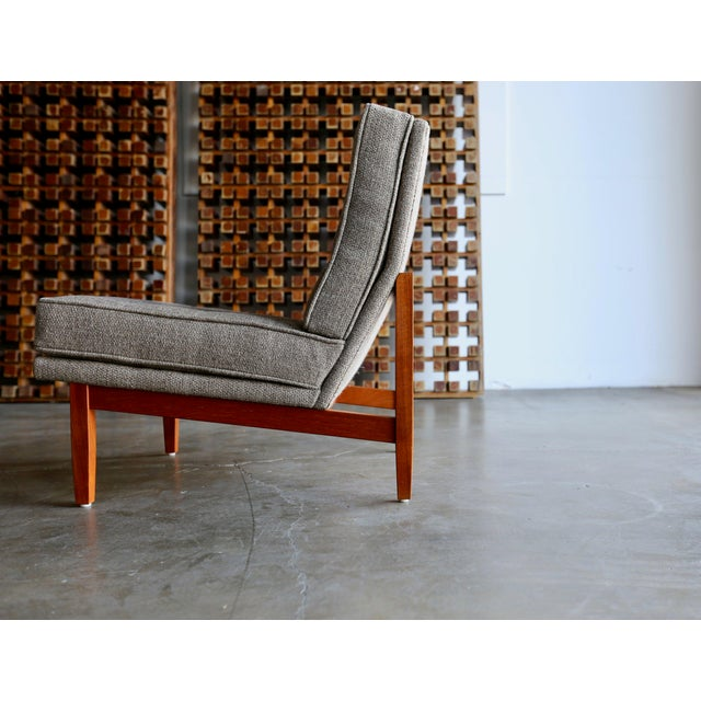 Knoll Mid Century Florence Knoll Slipper Lounge Chairs - a Pair For Sale - Image 4 of 12