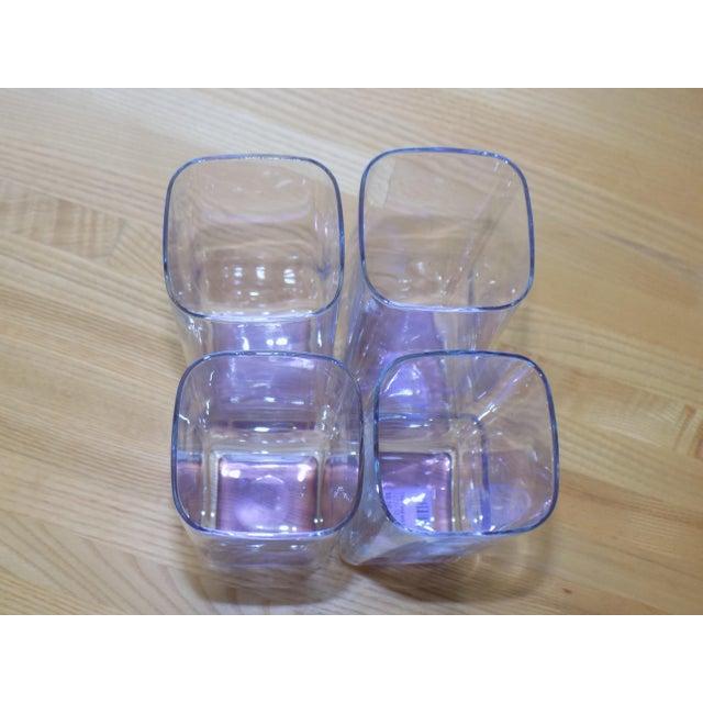 Vintage Purple Tom Collins Glasses - Set of 4 For Sale - Image 4 of 6