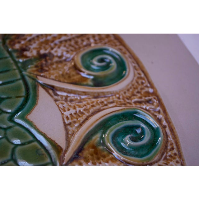 1950s Mid-Century Owl Trivet / Wall Tile by David Gil for Bennington Potters For Sale - Image 5 of 11