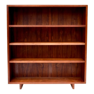 Rosewood Danish Modern Bookcase For Sale