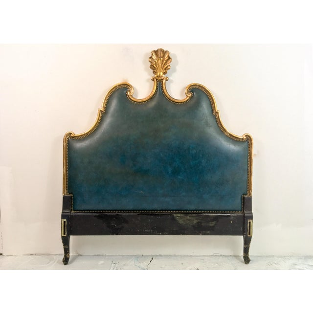 French Gilded Full or Queen Headboard - Image 2 of 4