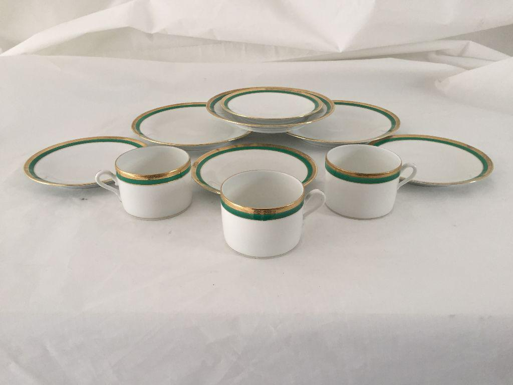 Italian Fine China  Richard Ginori  Dinnerware - 10 Pcs Set - Image ...  sc 1 st  Chairish & Italian Fine China