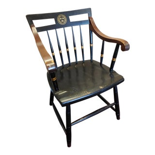 Black Nichols and Stone Armchair For Sale
