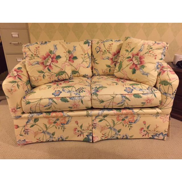 Vintage Vanguard Floral Chintz Loveseat For Sale - Image 9 of 10