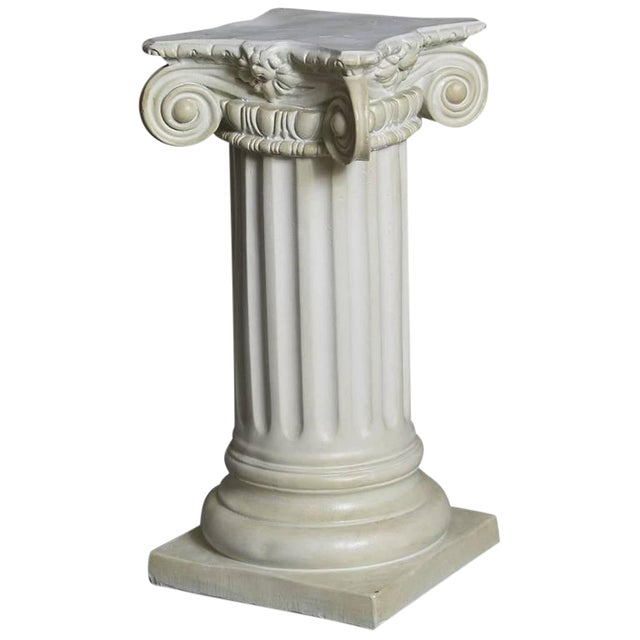 World Class Greek Style Plaster Pedestal Or Column With