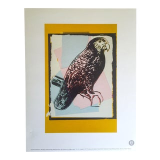 "Andy Warhol Estate Rare Vintage 1991 Collector's Lithograph Print ""Puerto Rican Parrot"" 1986"