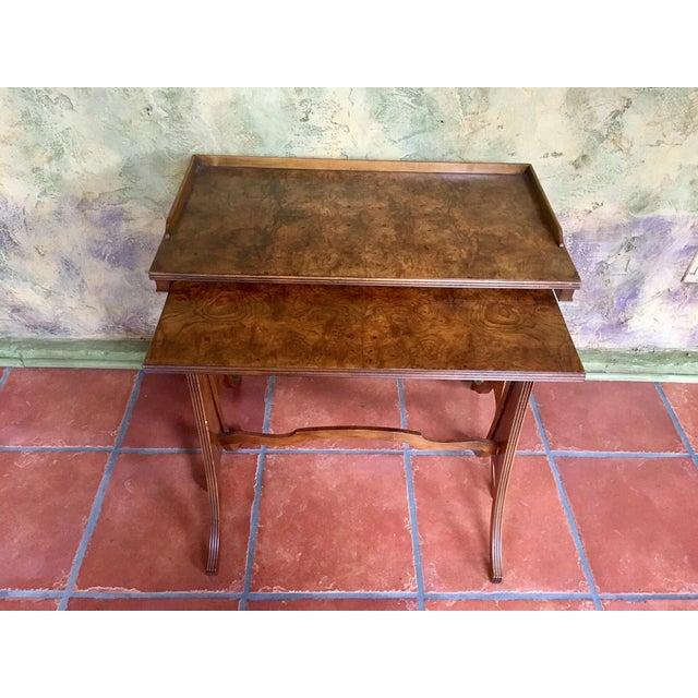 Baker Furniture Nesting Tables - Set of 2 For Sale - Image 13 of 13