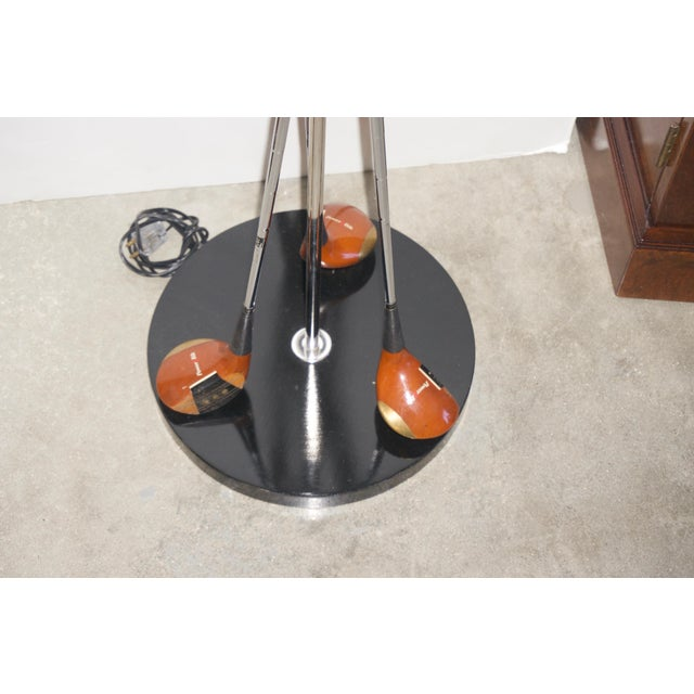 Late 20th Century Golf Club Floor Lamps With Power Bilt, Pouette & Stan Thompson Clubs - a Pair For Sale - Image 5 of 7