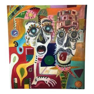 Vibrant Original Painting by Jorge Spiropulo