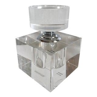 Zodax Modern Crystal Cube Perfume Bottle
