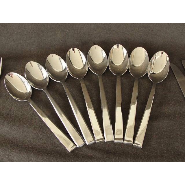 Dansk Dansk Meridian Stainless Flatware - 57 Pieces For Sale - Image 4 of 9