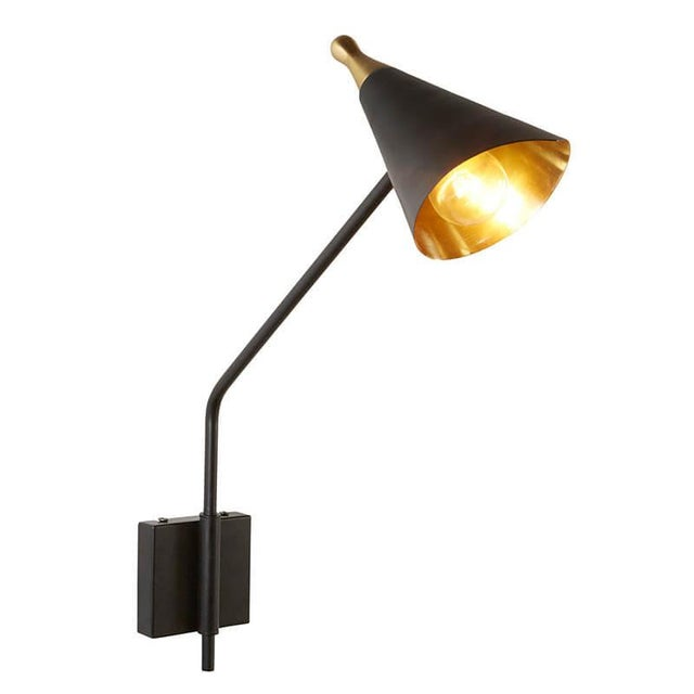 Mid-Century Modern Mid Century Sconce, Medium For Sale - Image 3 of 3
