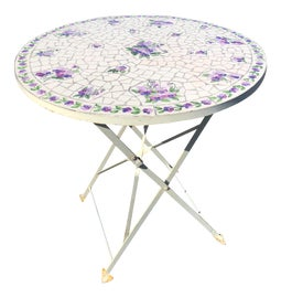 Image of Mosaic Outdoor Side Tables