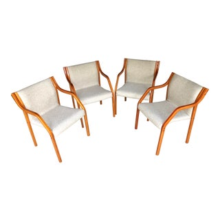 1970s Vintage Westnofa Dining Chairs- Set of 4 For Sale