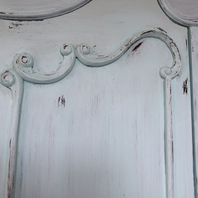 French Provencal Large Scale Armoire For Sale - Image 6 of 13