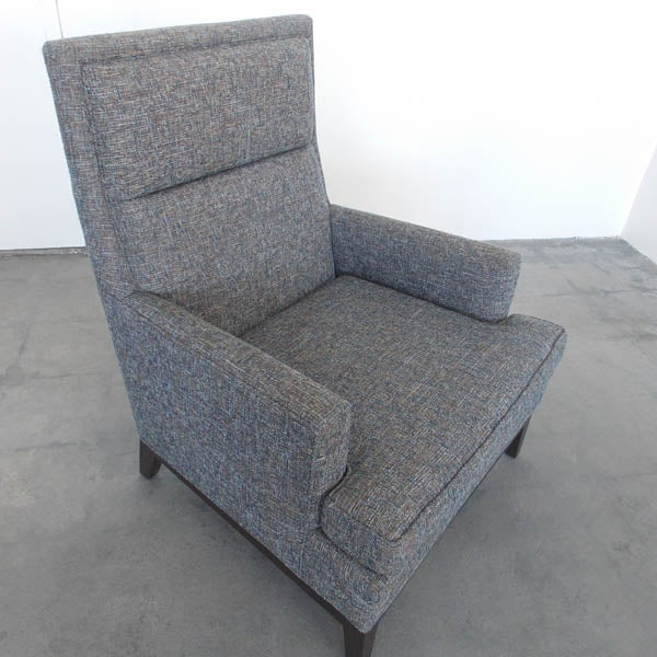 Mid-Century High Back Club Chair - Image 6 of 7