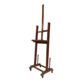Vintage 1930s-40s American Ny Artist Wood Painters Easel III For Sale