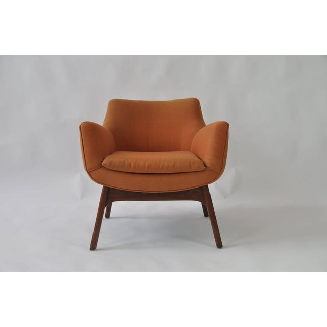 Early 20th Century Pair of Adrian Pearsall Lounge Chairs For Sale - Image 5 of 6