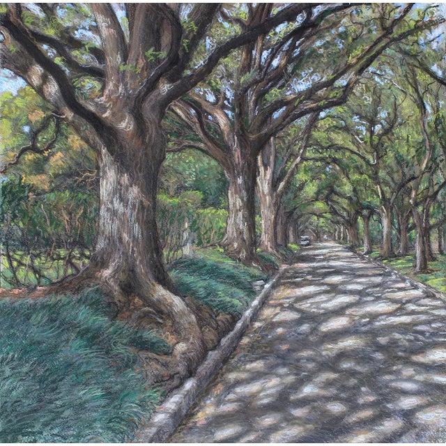 "Garrett Middaugh ""North Blvd 2"" Pastel Painting For Sale"