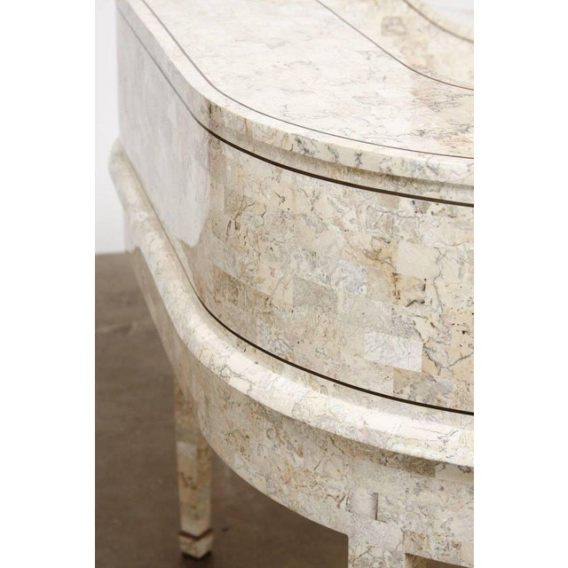 Tessellated Stone Carlton House Desk by Maitland-Smith For Sale - Image 11 of 13
