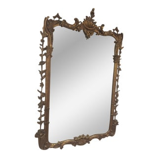 Antique Venetian Gold Plaster Mirror