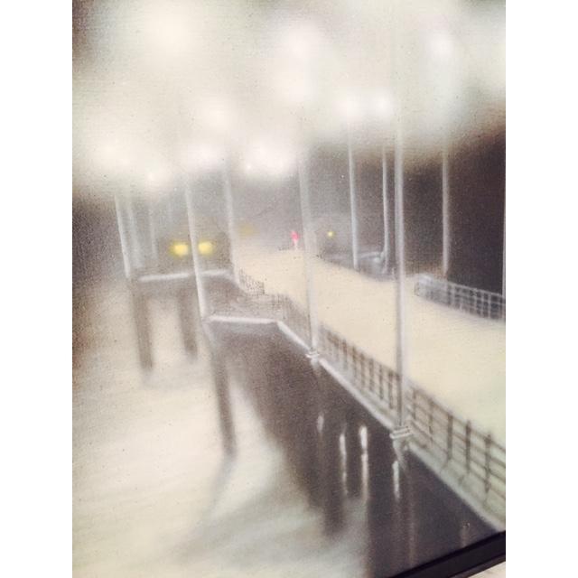 Charlie McPhee Vintage 1981 Pier Airbrush Painting - Image 4 of 6
