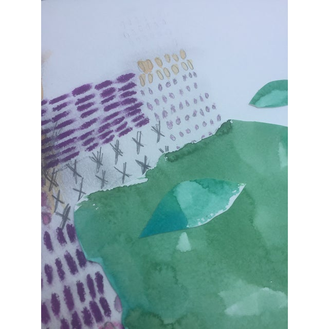 African Watercolor Collage - Image 3 of 6