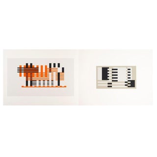 Josef Albers Screenprint 31, Formulation : Articulation For Sale