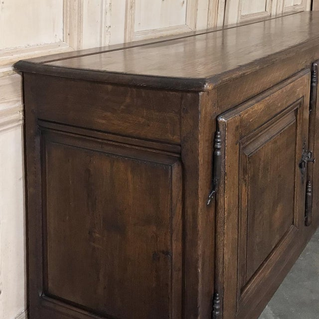 18th Century Country French Provincial Low Buffet For Sale - Image 9 of 13