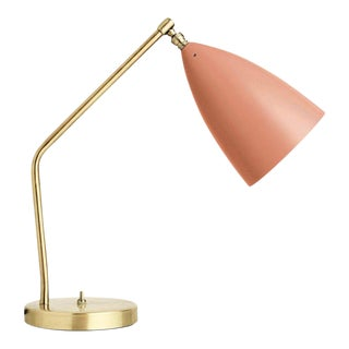 Greta Magnusson Grossman 'Grasshopper' Table Lamp in Red For Sale