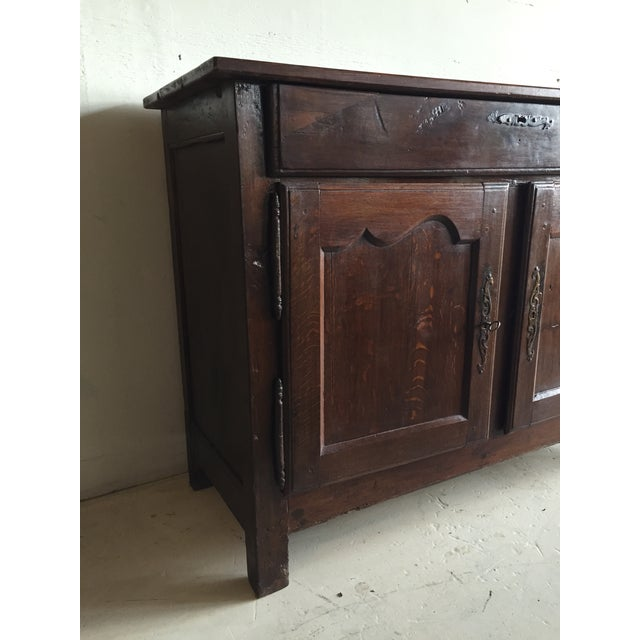 Antique French Country Walnut Cabinet - Image 3 of 11