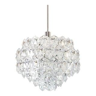 Mid-Century Modern Kinkeldey Crystal Chandelier For Sale