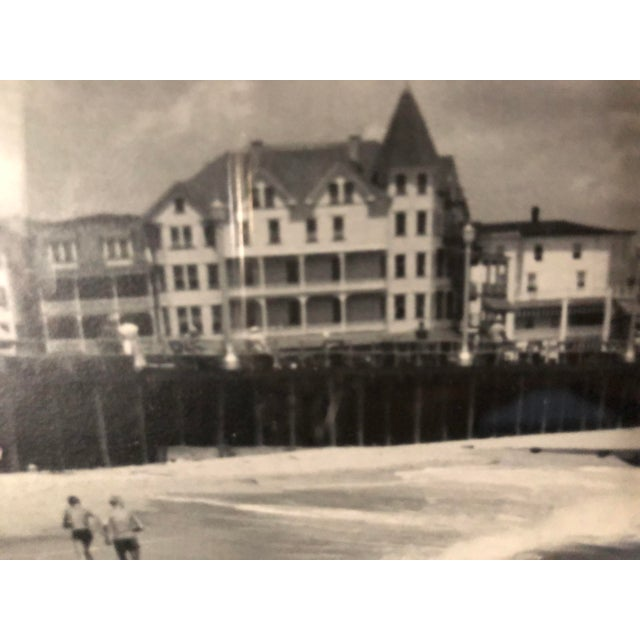 Vintage Black and White Photograph of Ocean Grove, New Jersey For Sale - Image 10 of 13