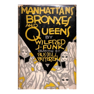 """Manhattans Bronxes and Queens"" by Russell Patterson For Sale"