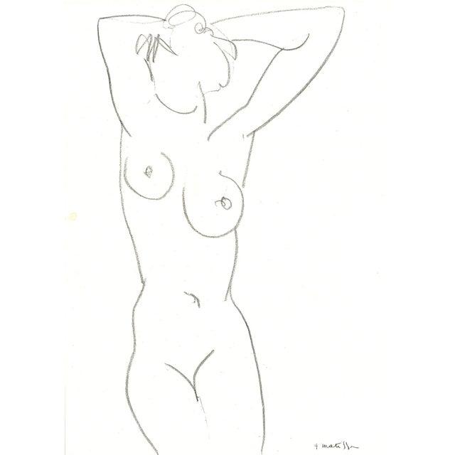 Henri Matisse Nude Drawing, 1952 - Image 1 of 2