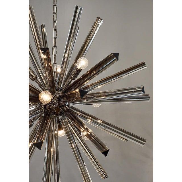 Glass Customizable Italian Murano Glass Sputnik Chandelier For Sale - Image 7 of 9