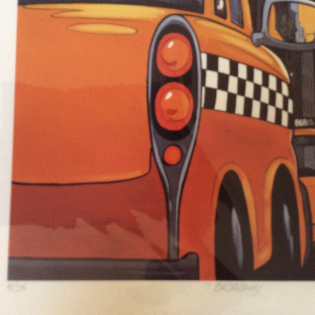"""""""Broadway"""" Neo-Pop Signed Silkscreen - Boudro - Image 3 of 4"""