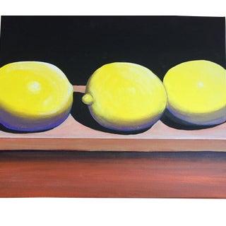 Lemons Still Life Painting For Sale