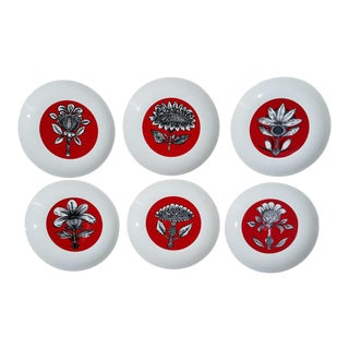 Bidasoa Spanish Dessert Plates - Set of 6