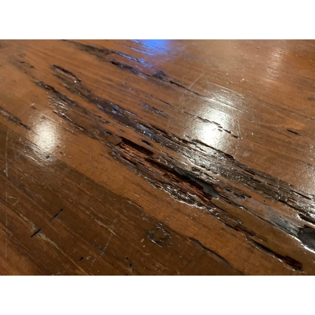 French Farmhouse Table Of Reclaimed, Reclaimed Wood Furniture Philadelphia